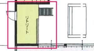 ダイワハウスの間取り提案3階 子供の遊び場拡大図
