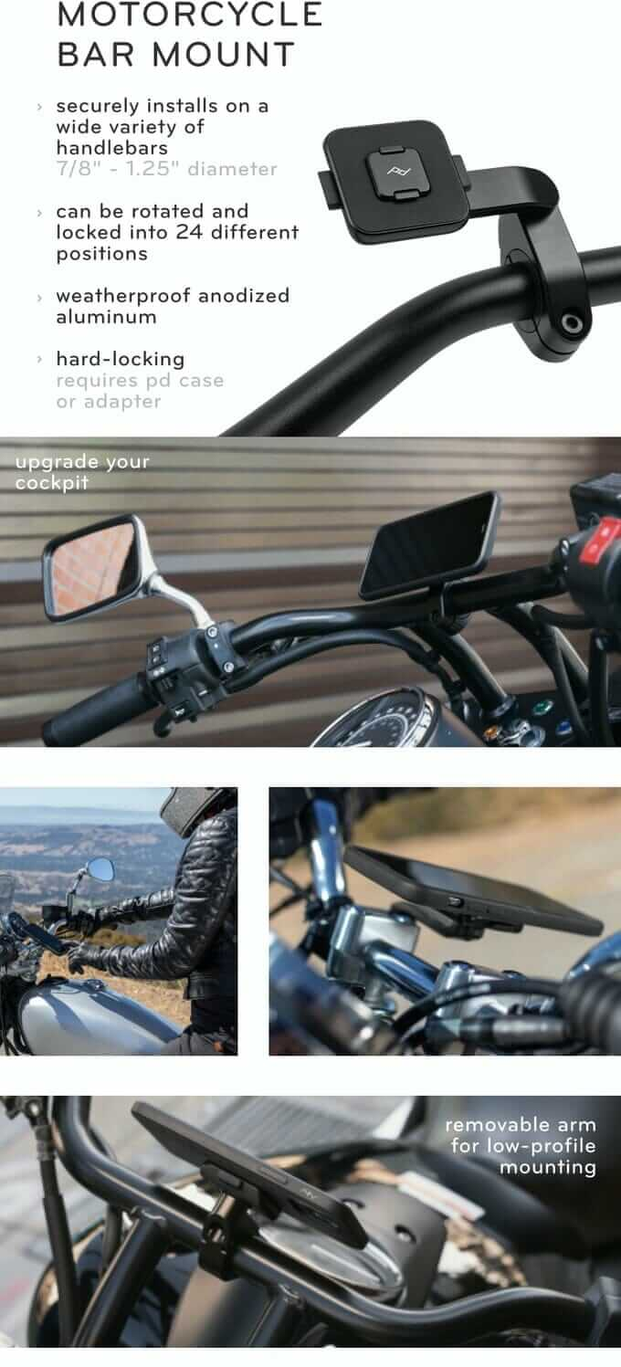 Peak Design Motorcycle Bar Mount