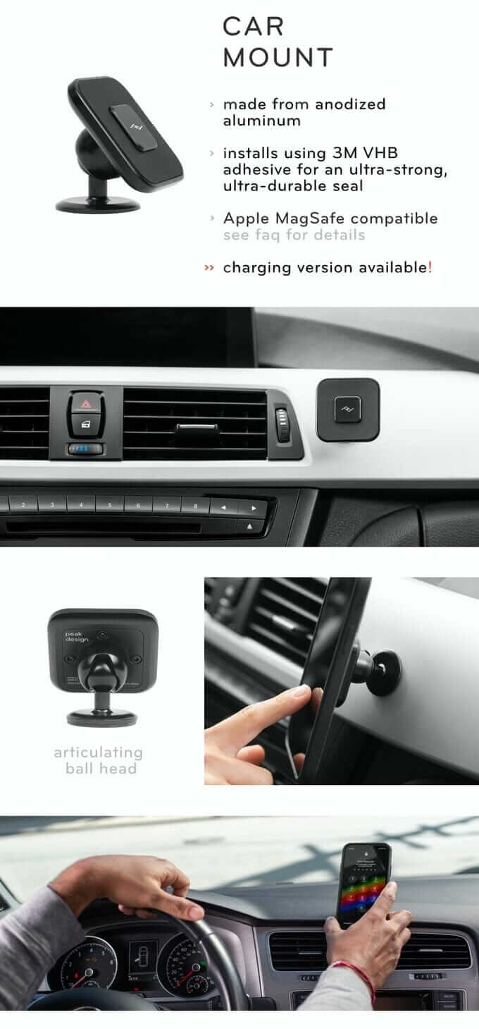 Peak Design Car Mount